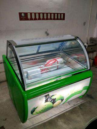 vitrina de helado 12cubetas incluidas nuevas