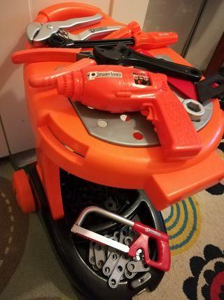 maletín mecánico herramientas