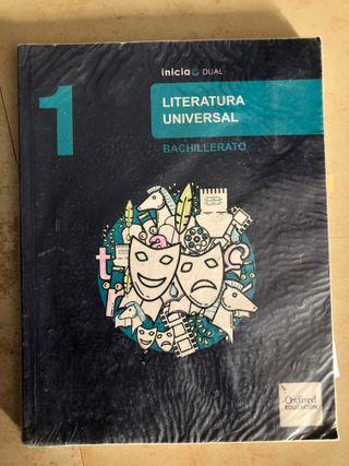 Libro 1º Bachiller Literatura Universal