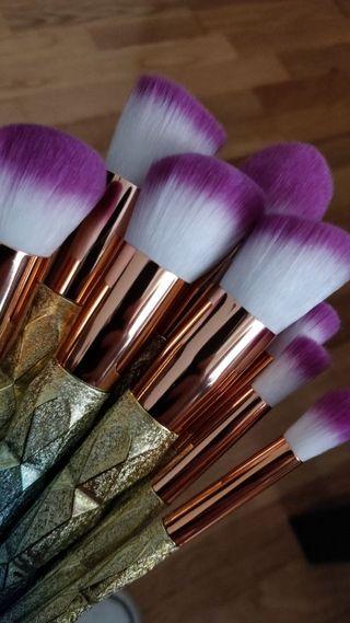 Set Brochas Maquillaje
