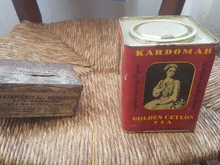 caja ojalata antigua Lithines