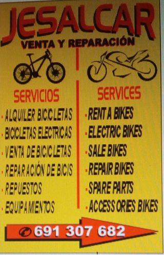 Tienda De Motos y Bicicletas.