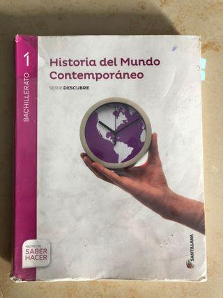 Libro de 1º de bachiller Historia del Mundo