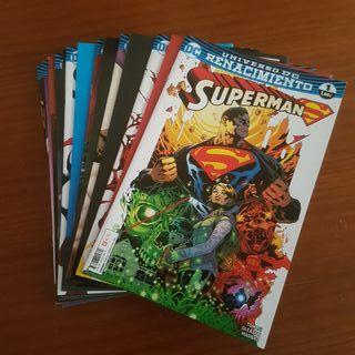 SUPERMAN 1-17 Renacimiento ECC