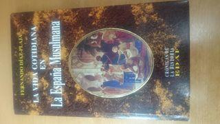 LIBRO VIDA EN LA ESPAÑA MUSULMANA