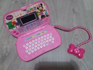 ordenador didactico minnie mouse