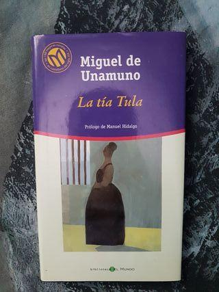 La tia Tula de Miguel de Unamuno