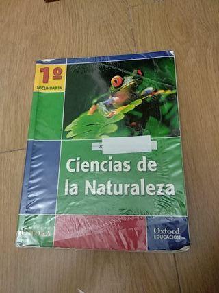 Libro de texto Ciencias de la Naturaleza 1 ESO