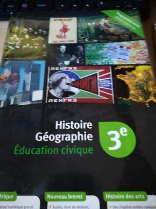 Libro Histoire G'eographie 3 de eso
