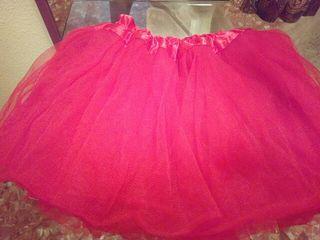 b3fd4036c Falda de tul roja de segunda mano en la provincia de Valencia en ...