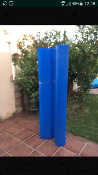 Manta covertor térmica piscina