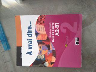 libro Francés À Vrai dire A2-B1