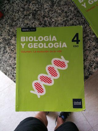 biología y tecnología 4 Eso