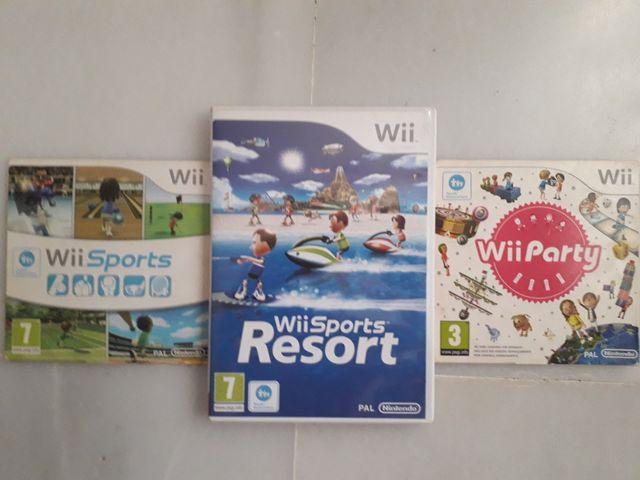 Juegos Wii Sport Y Wii Party De Segunda Mano Por 35 En San Luis De
