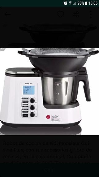 Robot de cocina monsieur cuisine de segunda mano en wallapop - Robot de cocina monsieur cuisine plus ...