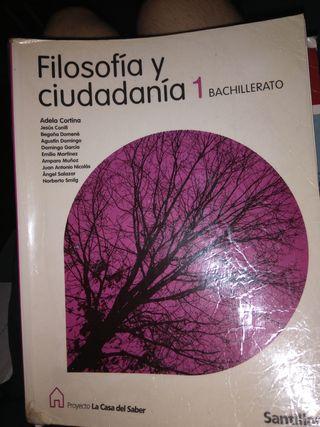 libro de filosofía y ciudadanía 1 bachillerato