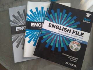 English File Workbook and Student's Book