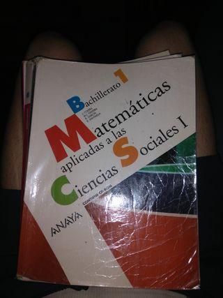 libro matemáticas aplicadas 1 bachillerato