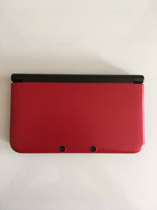 Nintendo 3DS XL Rojo / Negro