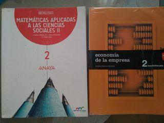 libro economía de la empresa 2 bachillerato