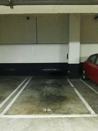 Plaza de garaje en alquiler