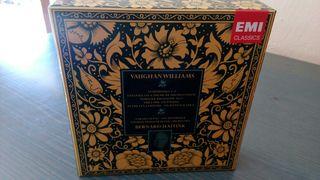 7 CDs BOX VAUGHAN WILLIAMS/BERNAD HAITINK