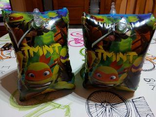 Manguitos tortugas ninjas.