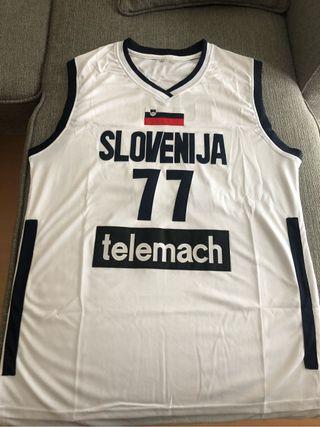 Camiseta luka doncic eslovenia