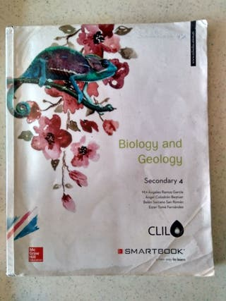 Libro Biology and Geology 4° ESO