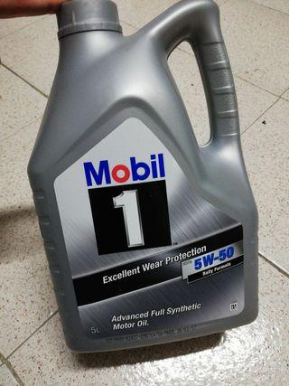 aceite Mobil1 5W50 rally fórmula 4L