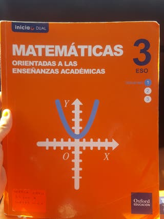 libro de matematicas oxford 3° eso