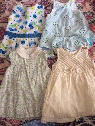 Vestidos de bebe 4 euros cada uno