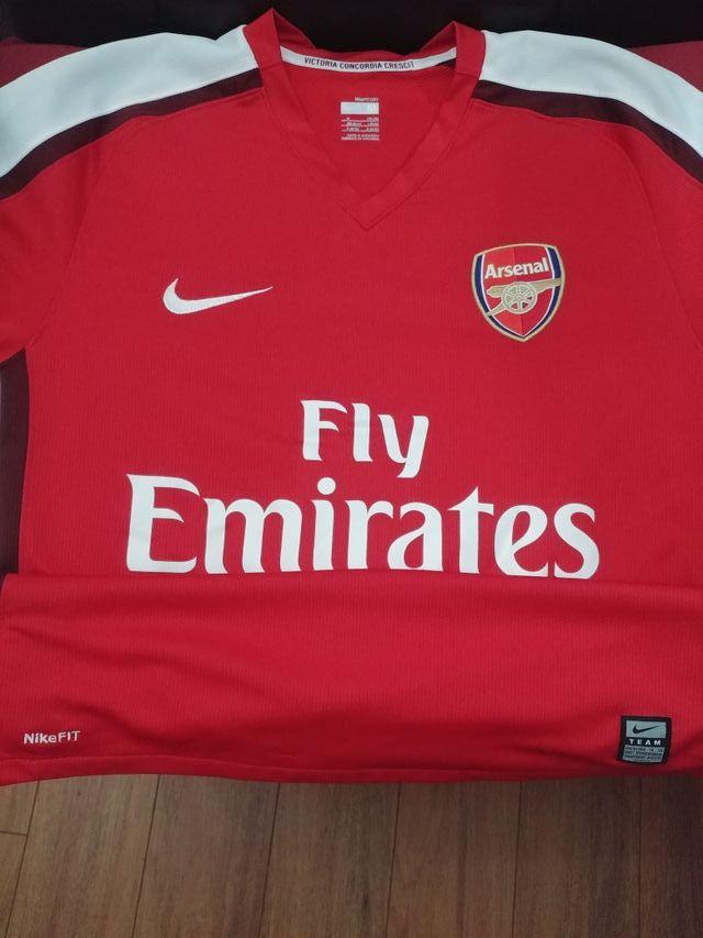 Camiseta nike Arsenal 2008 2009 de segunda mano por 12 € en Basauri ... 163342eea2990