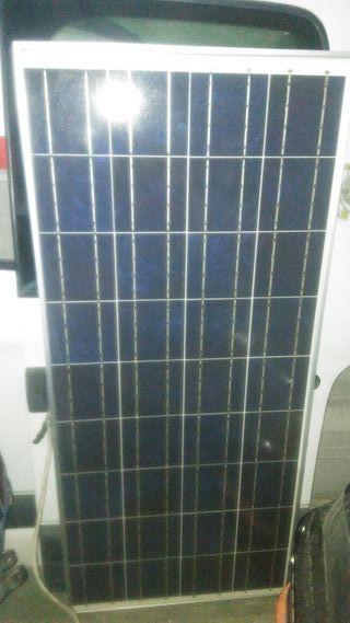 placa solar furgo camper / autocaravana