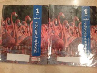 Libros biología y geología 1ESO