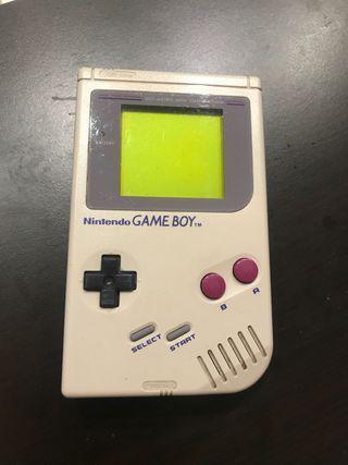 NINTENDO GAME BOY CLASICA 1989