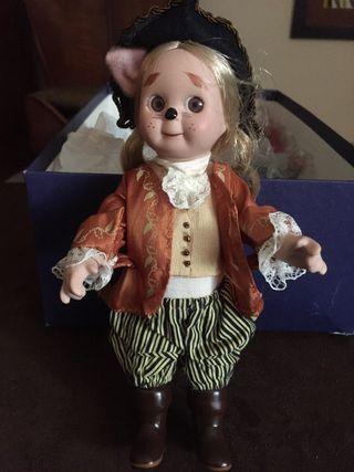 Muñeca porcelana de coleccion