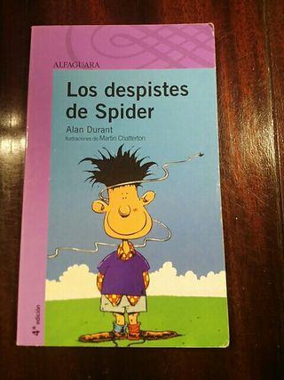 Libro: Los despiestes de Spider