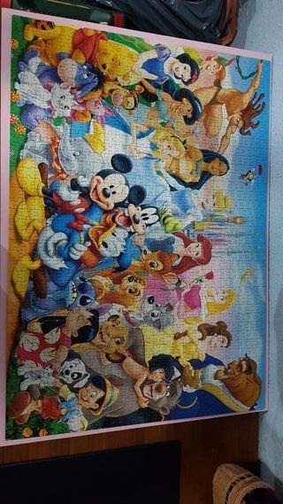 Puzzle 1000 piezas hecho