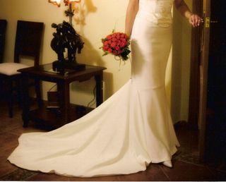 Falda de novia