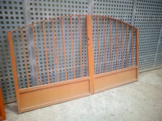 puertas de hierro para garaje