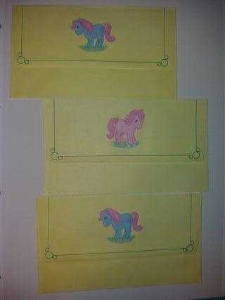 sobres mi pequeño pony