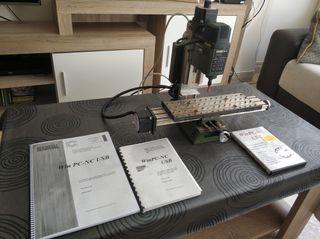 Mini fresadora CNC, Proxxon MF70