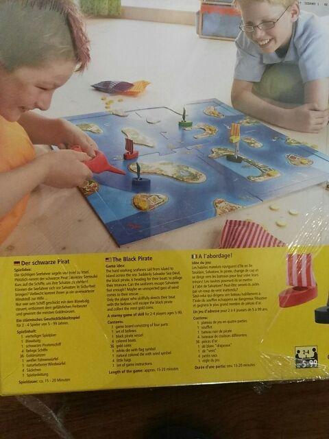 Juego De Mesa Infantil El Pirata Negro De Haba De Segunda Mano Por