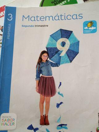 Libros 3.° y 4.° de primaria