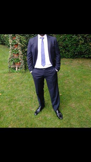 Traje hombre Massimo Dutti talla 44