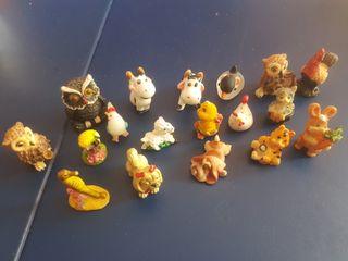 Animales de cristal y porcelana