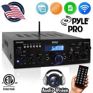 amplificador Bluetooth 200w & audiovision-bdn