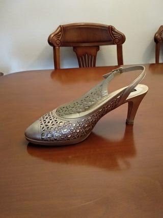 Zapatos mujer Argenta con cristales swarovski