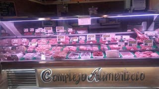 mostrador de supermercado